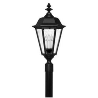 Hinkley Lighting 1471BK Manor House Cast Outdoor Lantern Fixture