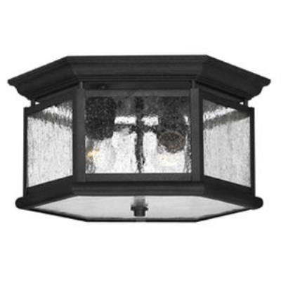 Hinkley Lighting 1683BK Lakeside Cast Outdoor Lantern Fixture