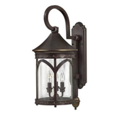 Hinkley Lighting 2314CB Lucerne Brass Outdoor Lantern Fixture