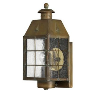 Hinkley Lighting 2370AS Nantucket Brass Outdoor Lantern Fixture