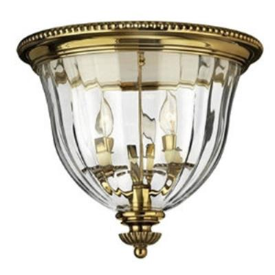 Hinkley Lighting 3612BB Cambridge Flush Mount