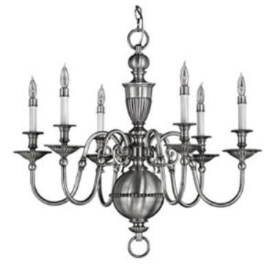 Hinkley Lighting 4416PW Cambridge Chandelier