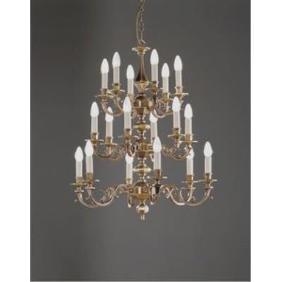 Holtkotter Lighting 3818 Eighteen Light Chandelier