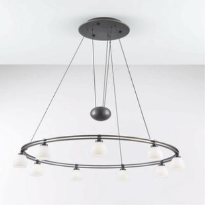 Holtkotter Lighting 5559 Nine Light Round Chandelier