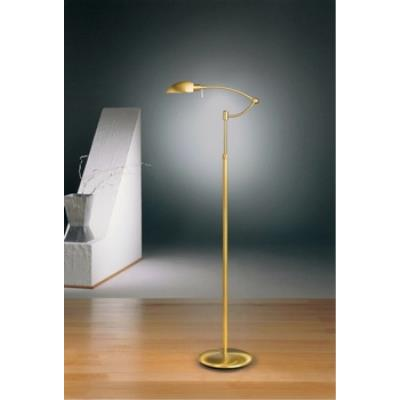 Holtkotter Lighting 6450P1 One Light Swing Arm Floor Lamp