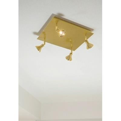 Holtkotter Lighting C8410-R Lichtstar - Four Light Spot with Square Canopy