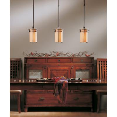 Hubbardton Forge 18-763 Exos Pasadena - One Light Small Adjustable Pendant