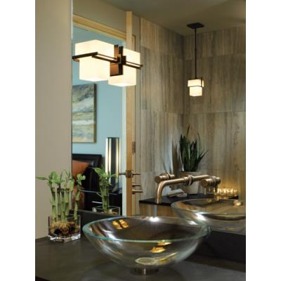 Hubbardton Forge 12-3755 Kakomi - One Light Semi-Flush Mount