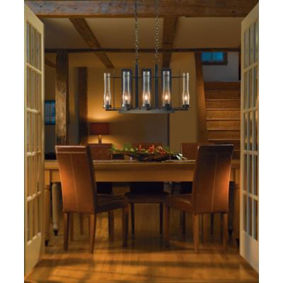Hubbardton Forge 10-3285 New Town - Eight Light Chandelier