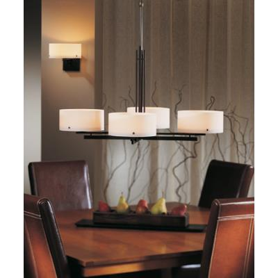 Hubbardton Forge 13-2200-150Glass 4 Light Pendant - Trestle