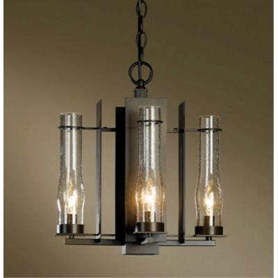 Hubbardton Forge 10-3250 New Town - Four Light Chandelier