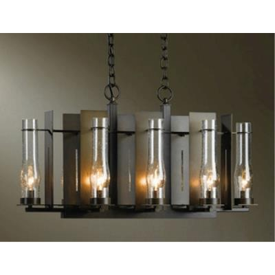 Hubbardton Forge 10-3280 New Town - Eight Light Chandelier