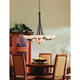 Hubbardton Forge 10-1263 Aegis - Seven Light Chandelier