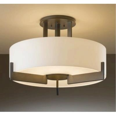 Hubbardton Forge 12-6403F Axis - Three Light Medium Flush Mount