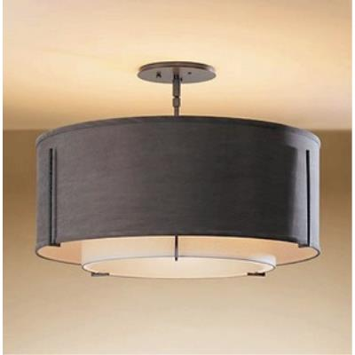 Hubbardton Forge 12-6503 Exos - Three Light Medium Semi-Flush Mount