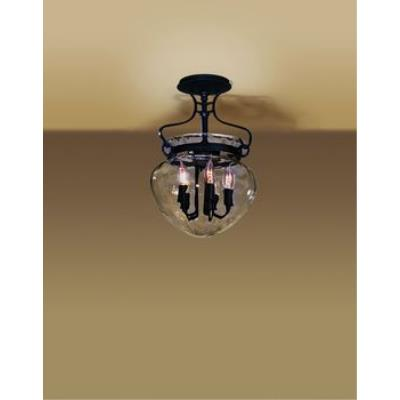 Hubbardton Forge 12-6754 Acharn - Five Light Semi-Flush Mount