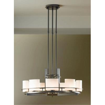 Hubbardton Forge 13-7530 Arc Ellipse Circular - Nine Light Adjustable Pendant