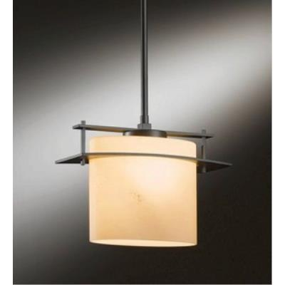 Hubbardton Forge 18-825F Arc Ellipse - One Light Adjustable Fluorescent Pendant