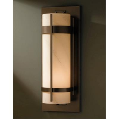Hubbardton Forge 30-5895 Banded Grande - One Light Outdoor Wall Sconce