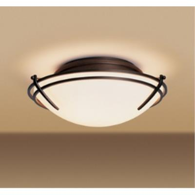 Hubbardton Forge 12-4402-07-G98 Tryne - Two Light Flush Mount