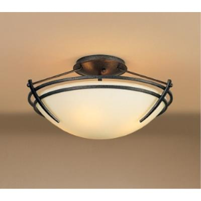 Hubbardton Forge 12-4412-20-G47 Presidio Tryne - Two Light Semi-Flush Mount