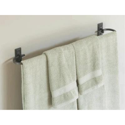 "Hubbardton Forge 84-1024 Metra - 29"" Curved Towel Holder"