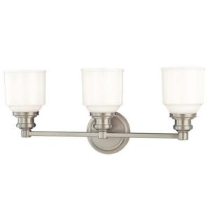 Windham Collection - Three Light Bath Bracket