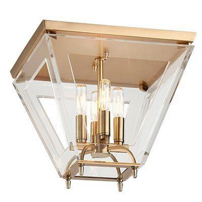 Hudson Valley Lighting 7414-A Andover - Four Light Flush Mount