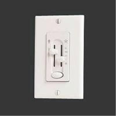 Hunter Fans 27181 Accessory - 1.6 Amps Four-Speed Slide Wall Control