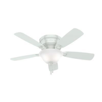 """Hunter Fans 52062 Low Profile - 48"""" Ceiling Fan with Light Kit"""