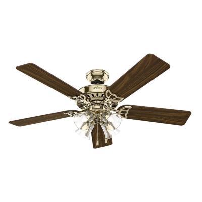 """Hunter Fans 53066 Studio Series - 52"""" Ceiling Fan"""
