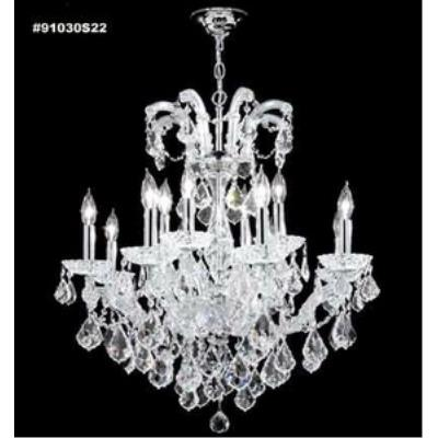 James Moder Lighting 91030 Maria Theresa Grand - Twelve Light Chandelier