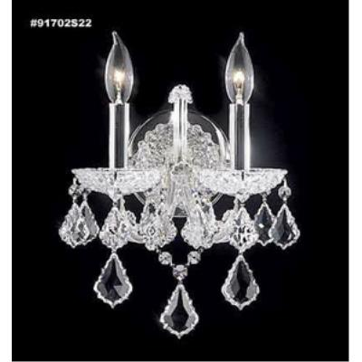 James Moder Lighting 91702 Maria Theresa Grand - Two Light Wall Sconce