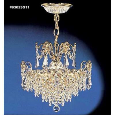 James Moder Lighting 93023 Empress - Three Light Chandelier