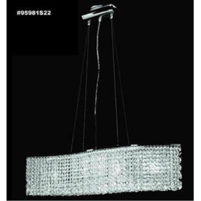 James Moder Lighting 95981S Broadway - Five Light Pendant