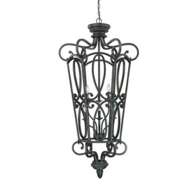 Jeremiah Lighting 25236-MB Highland Place - Six Light Foyer
