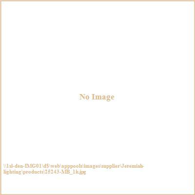 Jeremiah Lighting 25243-MB Highland Place - Three Light Semi-Flush Mount