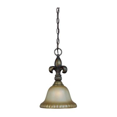 Jeremiah Lighting 25731-BBZ Devereaux - One Light Mini Pendant