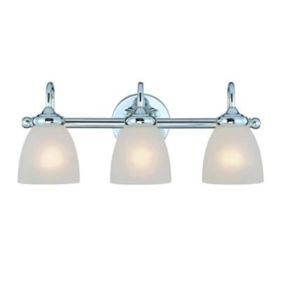 Jeremiah Lighting 26103-CH Spencer - Three Light Bath Vanity