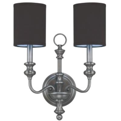 Jeremiah Lighting 28562-AN Willow Park - Two Light Wall Sconce