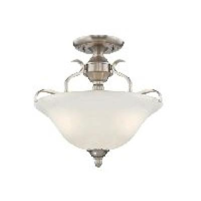 Jeremiah Lighting 29053-BNK Mckinney - Three Light Convertible Semi-Flush Mount