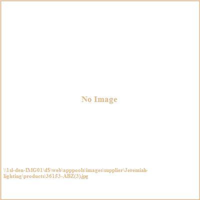 Jeremiah Lighting 36153-ABZ Thornton - Three Light Convertible Semi-Flush Mount