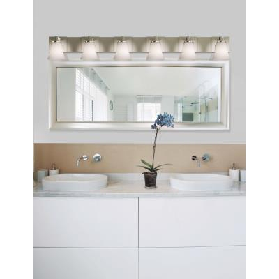 "Justice Design FSN-8926 Fusion - 55.5"" Six Light Bath Bar"
