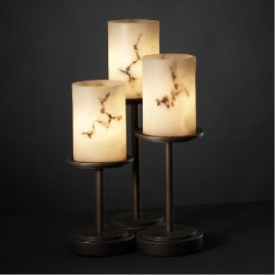 Justice Design FAL-8797 Dakota 3-Light Table Lamp