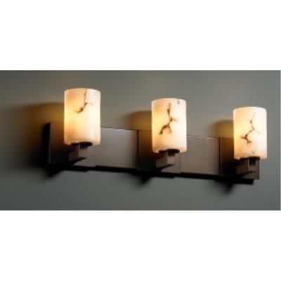 "Justice Design FAL-8923 LumenAria - 27"" Three Light Bath Bar"