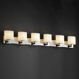 Justice Design FSN-8926 Modular 6-Light Bath Bar