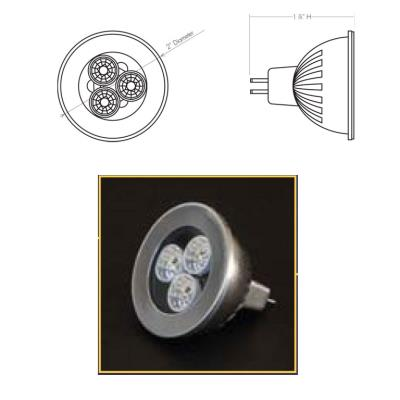 Justice Design LP-MR16 LED MR16 Bulb