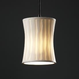 Justice Design POR-8815 Limoges - One Light Mini-Pendant