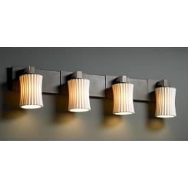 Justice Design POR-8924 Limoges - Four Light Bath Bar