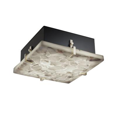 "Justice Design ALR-5555 Clips 12"" Square Flush-Mount"
